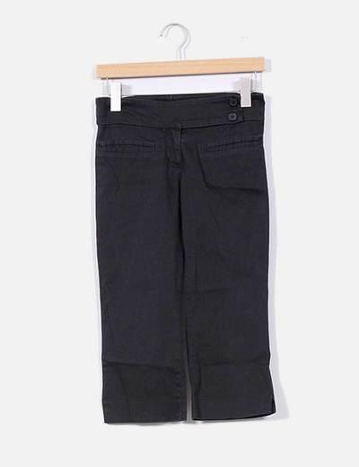 Pantalón negro pirata Zara