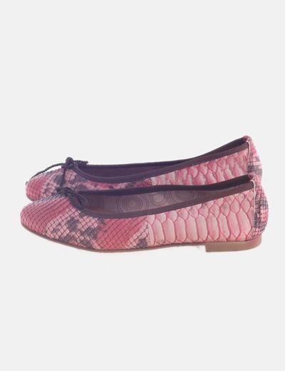 Bailarina rosa animal print