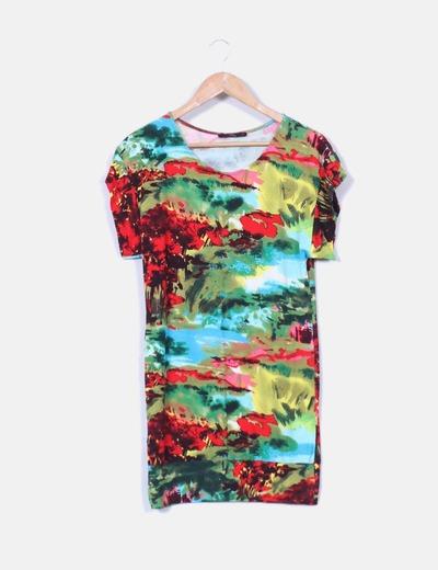 Vestido multicolor  Yera