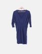 Vestido de punto azul amrino Asos
