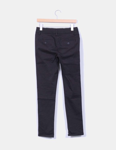 nuevo producto 0d5af 6c6d1 Pantalón negro de vestir