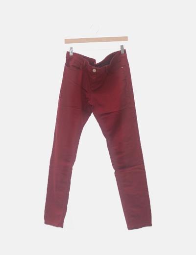 Pantalón granate de loneta