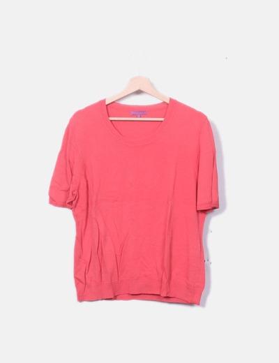 Suéter tricot coral
