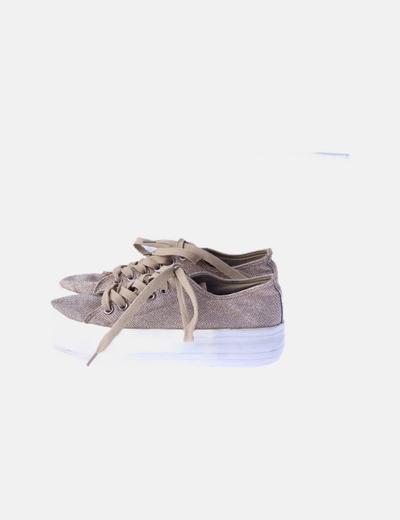 Zapatillas plataforma glitter
