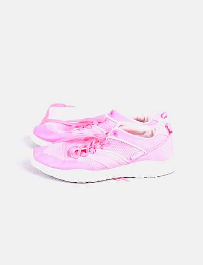 Chaussures roses de sport Pull&Bear
