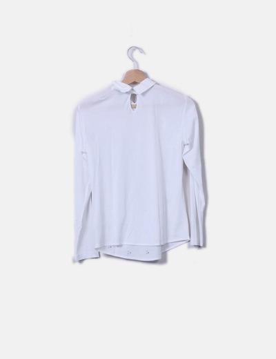 Purificación García Camisa blanca strass (descuento 75%) - Micolet 73b63524472