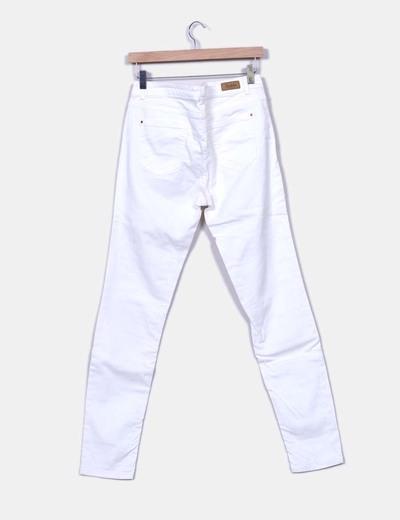 Jeans denim blanco