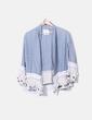 Kimono boho azul Zara