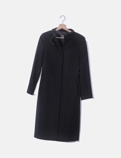 Maxi abrigo negro