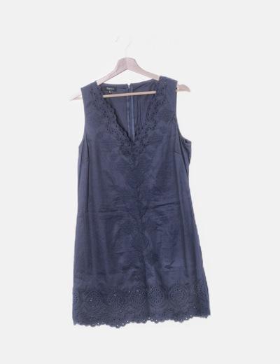 Vestido pichi azul marino