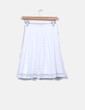 Falda mini blanca combinada Suiteblanco