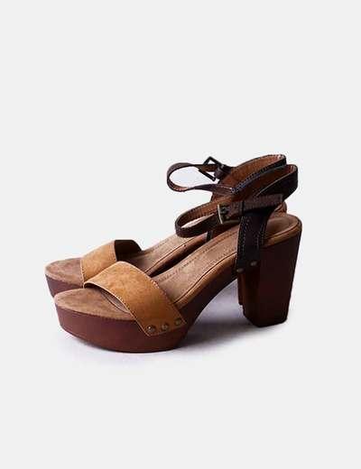 Sandales marrons Shif Store