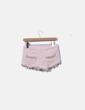Shorts denim rosa palo Bershka