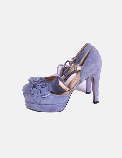 Zapatos ante azules