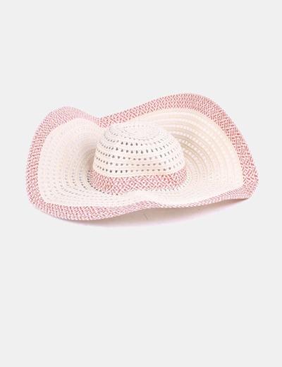 Sombrero rafia ala ancha ONLY