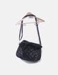 Bolso negro con tachas Pull&Bear