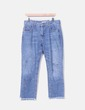 Jeans mom fit con pedrería Pull&Bear