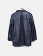 Manteau noir de fourrure C&A