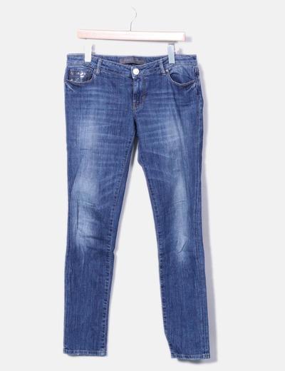 Jeans denim with pailettes Guess