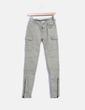Pantalón verde detalle bolsillos Pull&Bear
