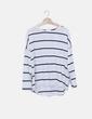 Camiseta blanca navy H&M