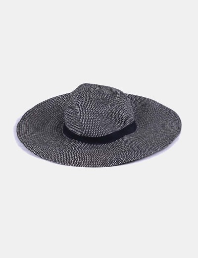 Sombrero ala ancha jaspeado NoName