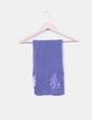 Bufanda azul bordada Roxy