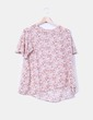 Blusa cruda estampada Southern Cotton