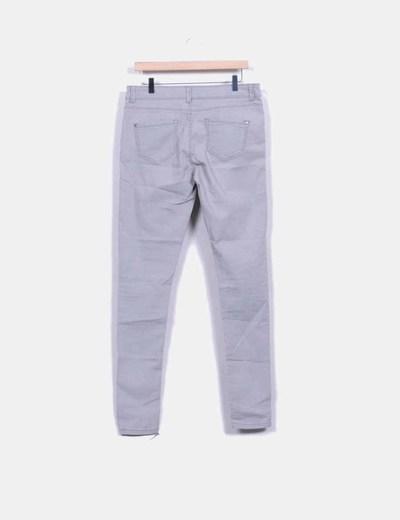 Jeans gris super skinny
