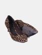 Zapato animal print de punta Marypaz