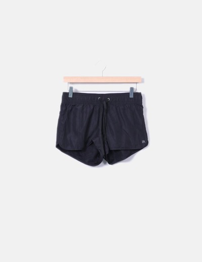 Short negro deportivo Lefties
