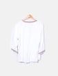 White blouse with beads Vero Moda