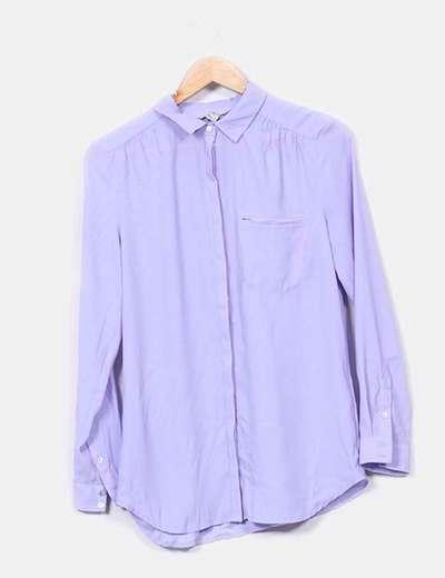 Blusa morada H&M