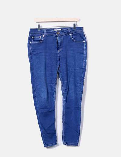Jeans denim azul