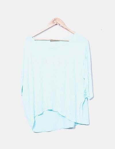 Camiseta corta azul