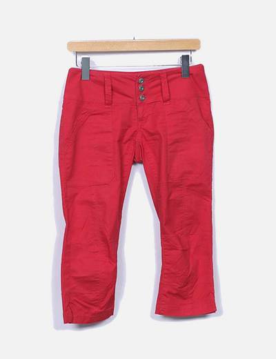 Jeans rouges pirate ONLY