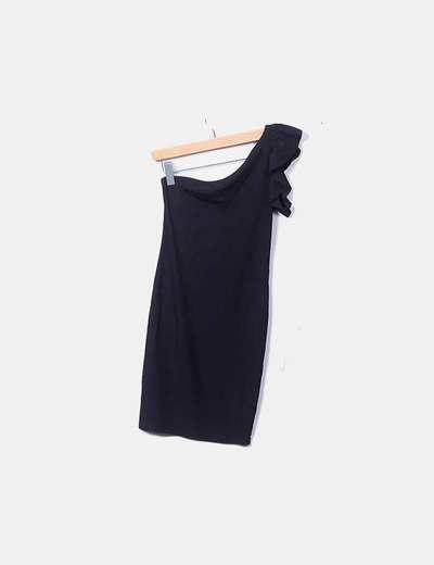 Vestido negro canale