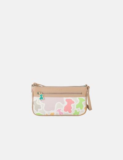 Bolso mini estampado multicolor Tous