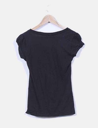 Camiseta negra piolin