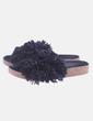 Sandalia negra flecos UGG