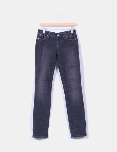 Jeans denim gris recto Pimkie