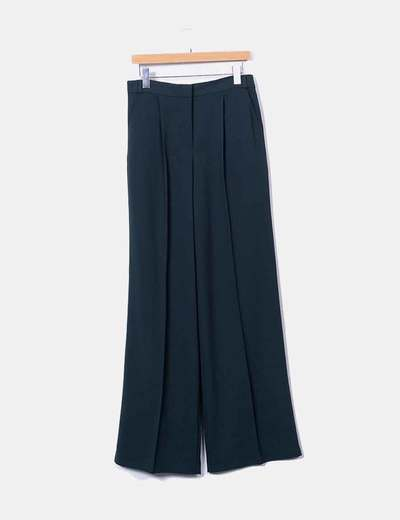 Pantalon vert texturé chinois Asos