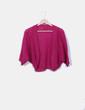Jersey de punto rosa glitter NoName