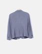 Blazer algodón gris oscuro Zara