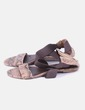 Sandale gencives imprimé animal Suiteblanco