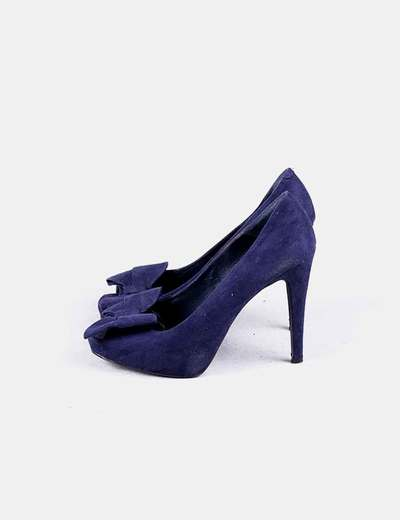 189d1c56d Marypaz Sapato de brilhante azul marinho com arco (desconto de 82%) -  Micolet