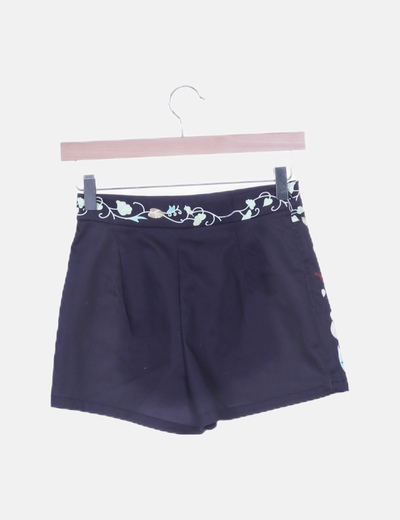 Shorts estampado floral