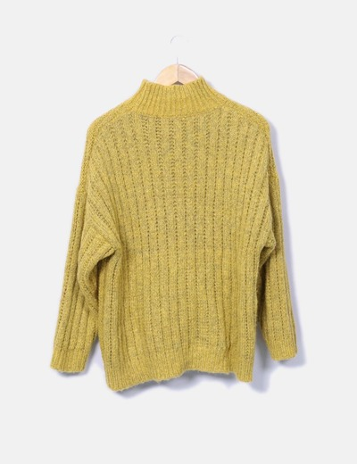 Jersey amarillo jaspeado