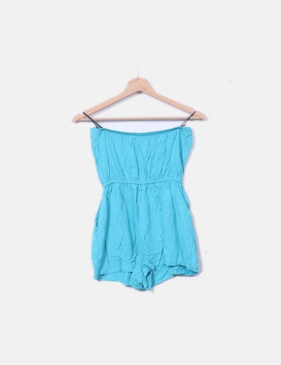 c049cabe845 Forever 21 Turquoise shorts jumpsuit (discount 56%) - Micolet