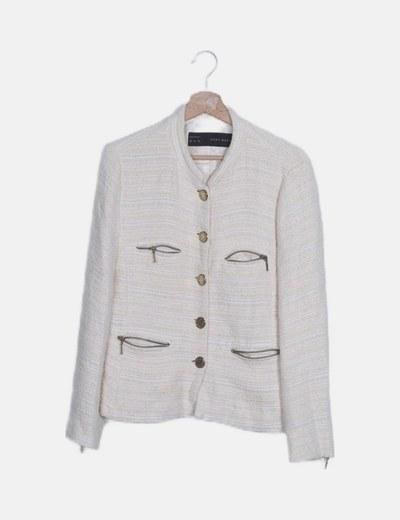 Malha/casaco Zara